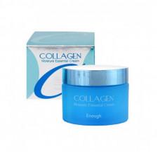 Увлажняющий крем с коллагеном  Collagen Moisture Essential Cream  Enough