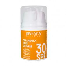 Солнцезащитный крем   КАЛЕНДУЛА   SPF 30   50ml Levrana