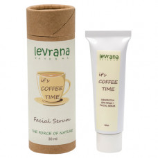 Сыворотка для лица   IT`S COFFEE TIME  с кофеином  30 ml Levrana