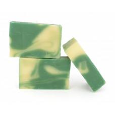 Натуральное мыло ручной работы  МОХИТО  для всех типов кожи, очищает, тонизирует  100g СпивакЪ